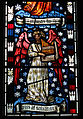Detail, William Morris window, Cattistock Church.jpg