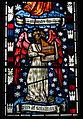 Detail, William Morris window, Cattistock Church.jpg