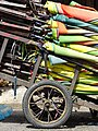 Detail of Cart with Rolled Umbrellas - Phnom Penh - Cambodia - 01 (48322348402).jpg