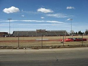 Laramie High School (Wyoming) - Image: Deti Stadium