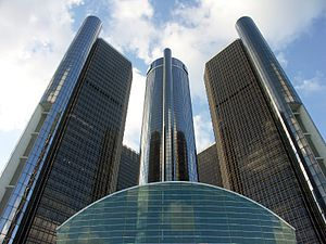 Deutsch: Detroit, Renaissance-Center