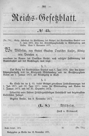 Deutsches Reichsgesetzblatt 1871 045 391.jpg