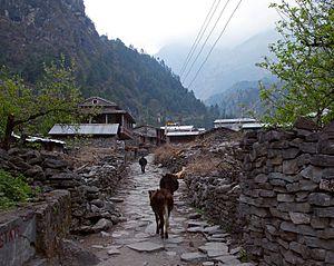 Dharapani, Gandaki - Dharapani village
