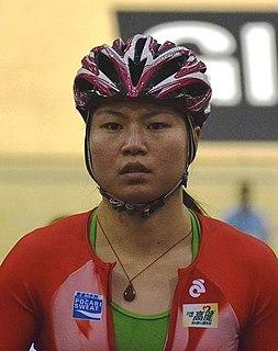 Diao Xiaojuan cyclist