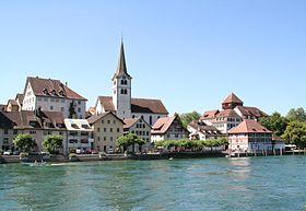 Stadtkirche, Schifflände und Unterhof