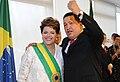 Dilma Rousseff and Hugo Chavez 2011.jpg