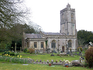 Dinder - Image: Dinder Church, Somerset