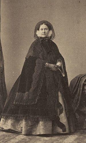 Mathilde Bonaparte - André-Adolphe-Eugène Disdéri, Princess Mathilde Bonaparte in 1860.