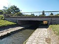 Disused bridge over the Séd, Veszprém, 2016 Hungary.jpg