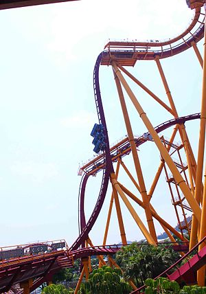 Dive Coaster (Chimelong Paradise) - Dive Coaster, July 2011