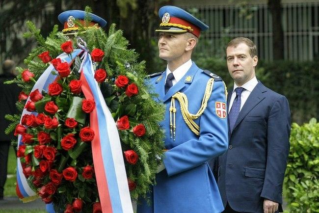 Dmitry Medvedev in Serbia 20 October 2009-6