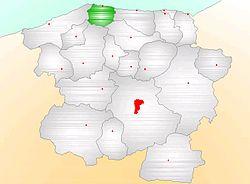Vị trí của Doğanyurt
