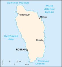 Mapa  Comunidade Dominicana