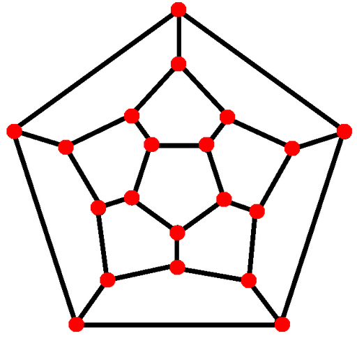 Dodecahedron schlegel diagram
