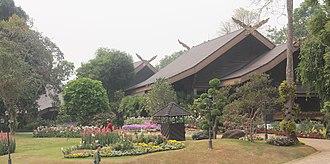 Chiang Rai Province - Doi Tung royal villa.