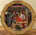 Domenico di bartolo, desco da nozze con nascita del battista, 1420-40 ca. (siena) 01.JPG