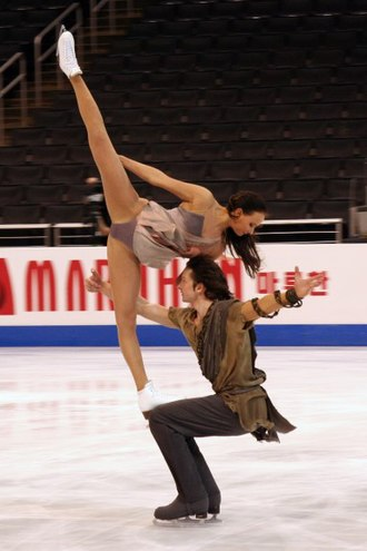 Oksana Domnina - Domnina/Shabalin perform their Spartacus free dance at the 2009 Worlds.