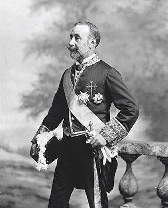 Thomas McKean - McKeans Great-Grandson, Carlos Martínez de Irujo, 8th Duke of Sotomayor