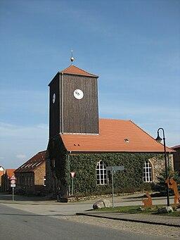 Dorfkirche in Althüttendorf bei Joachimsthal im Barnim.