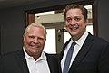 Doug Ford and Andrew Scheer in Toronto - 2018 (41065995960).jpg