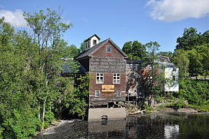 Piscataquis County, Maine - Image: Dover Foxcroft ME Woolen Mill 2