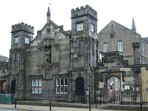 Andrew Bell (educationalist) - Dr Bell's School, Leith