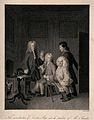 Dr. Slop being introduced to Tristram Shandy's father, who i Wellcome V0016119.jpg