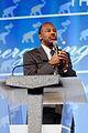 Dr Ben Carson at the Southern Republican Leadership Conference, Oklahoma City, OK May 2015 by Michael Vadon 05.jpg