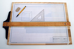 Drafting board with T Square.jpg