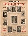 Dreyfus est innocent - les défenseurs du droit, de la justice et de la vérité.jpg