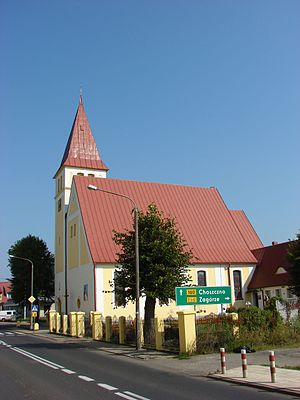Drezdenko - Image: Drezdenko, Church of the Sacred Heart of Jesus