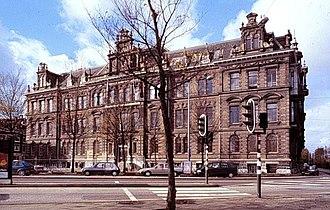 Hollandsche IJzeren Spoorweg-Maatschappij - Former headquarters of the HSM, built across the street from their main station in Amsterdam.