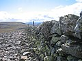 Dry stone wall on Carn of Claise - geograph.org.uk - 34279.jpg