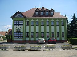City Hall of Bükkábrány