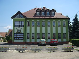 Bükkábrány - City Hall of Bükkábrány