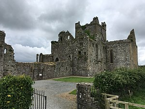 Dunbrody Abbey - Image: Dunbrody Abbey, view from South east