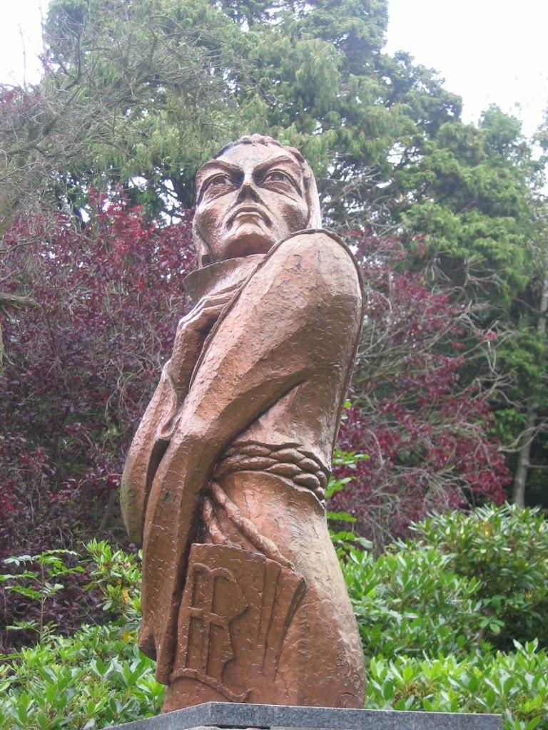 Duns Scotus sculpture