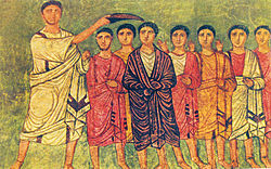 Dura Synagogue WC3 David anointed by Samuel.jpg