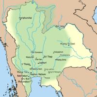 Lopburi Thailand Map.History Of Lopburi Wikipedia