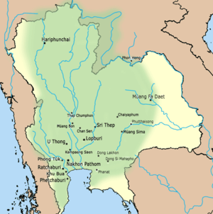 Dvaravati - Territory of Dvaravati