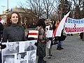 Dzień Solidarności z Białorusią - marzec 2011 20.JPG