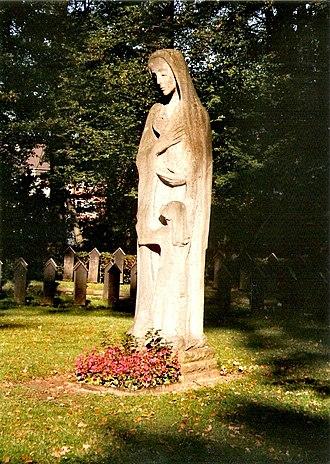 Bombing of Lübeck in World War II - Joseph Krautwald's The Mother