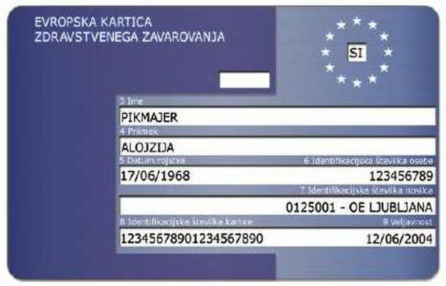 Ehic Karte.European Health Insurance Card The Reader Wiki Reader View Of