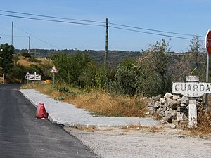 Roads in Portugal - Section of the old road between Aveiro and Vilar Formoso. Completed in the 1930s as the National Road nº 8 of 1st class (EN 8-1ª), it became the National Road nº 16 (N 16) by the PRN 1945. For decades, this was the most direct road link between Portugal and the rest of Europe. In the 1980s, it was replaced by the IP5 expressway, which itself was replaced, in the 2000s, by the A25 motorway.