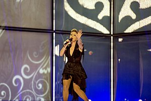 Israel in the Eurovision Song Contest 2014 - Mei Finegold at the second semi-final dress rehearsal