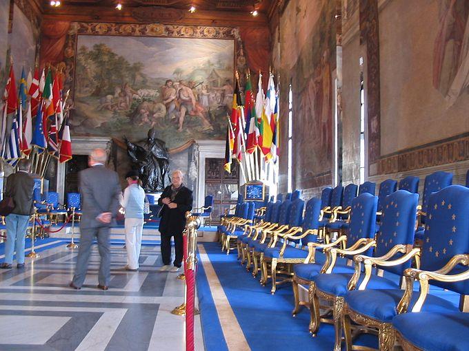 EU Roma Musei Capitolini hall