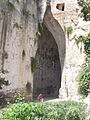 Ear of Dionysius, Archaeoligical Park, Syracuse, Sicily.JPG