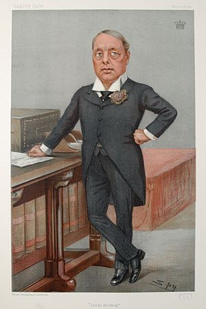 Archibald Primrose, 5th Earl of Rosebery - Rosebery caricatured by Spy for ''Vanity Fair'', 1901
