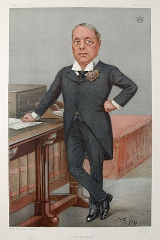 Archibald Primrose, 5th Earl of Rosebery - Rosebery caricatured by Spy for Vanity Fair, 1901