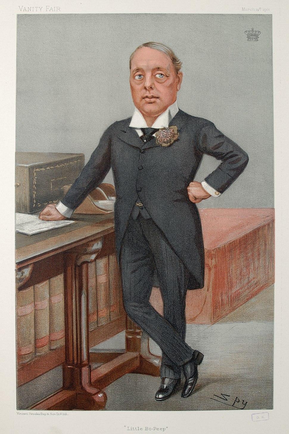 Earl of Rosebery Vanity Fair 14 March 1901